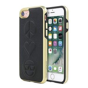 Rebecca Minkoff Black Peace Love IPhone 7 Case